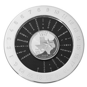 World Time Magnifier Paperweight Image 2
