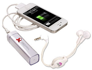 Econo Mobile Charger Retractable Earbuds Set Image 3