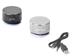 Speaker/Power Bank 2-Piece Gift Set Image 2