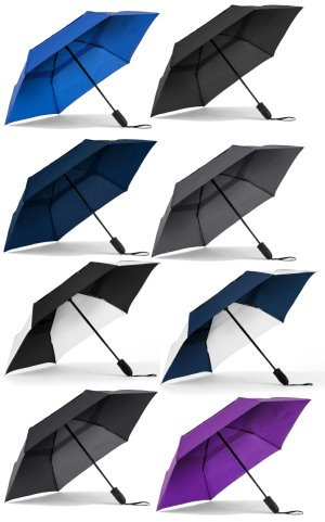 Auto Open & Close Compact Umbrella Image 2
