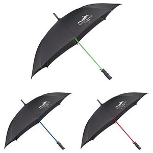 Color Rib Umbrellas - Auto Open 1
