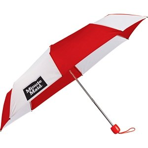 42 Push Button Folding Umbrella - Useful Corporate Gift Image 2