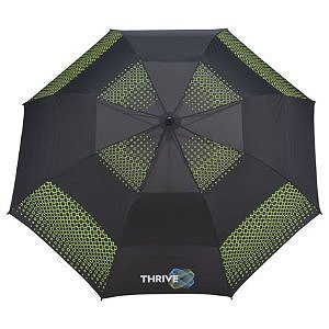 Slazenger Vented Auto Open Folding Golf Event Umbrellas Image 2