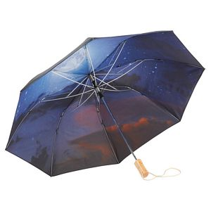Night Sky Auto Open Folding Umbrellas