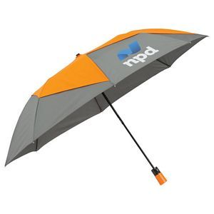 Folding PinWheel Vented Auto Open Umbrellas Image 2