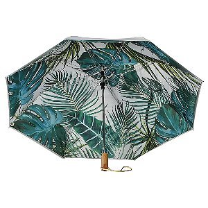 Palm Trees Auto Open Folding Umbrellas Image 2
