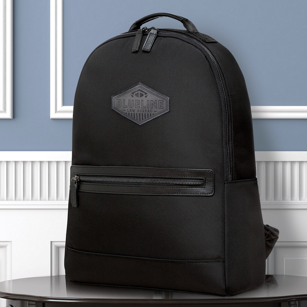 Downtown Black Backpack