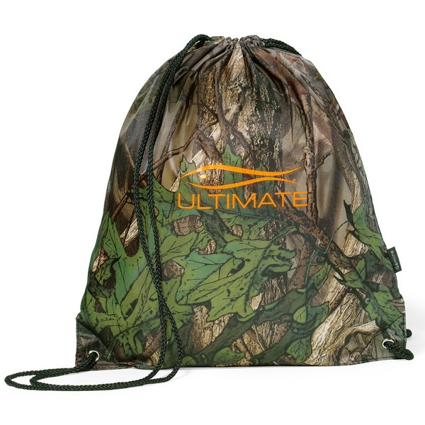 Forest Camo Cinchpack