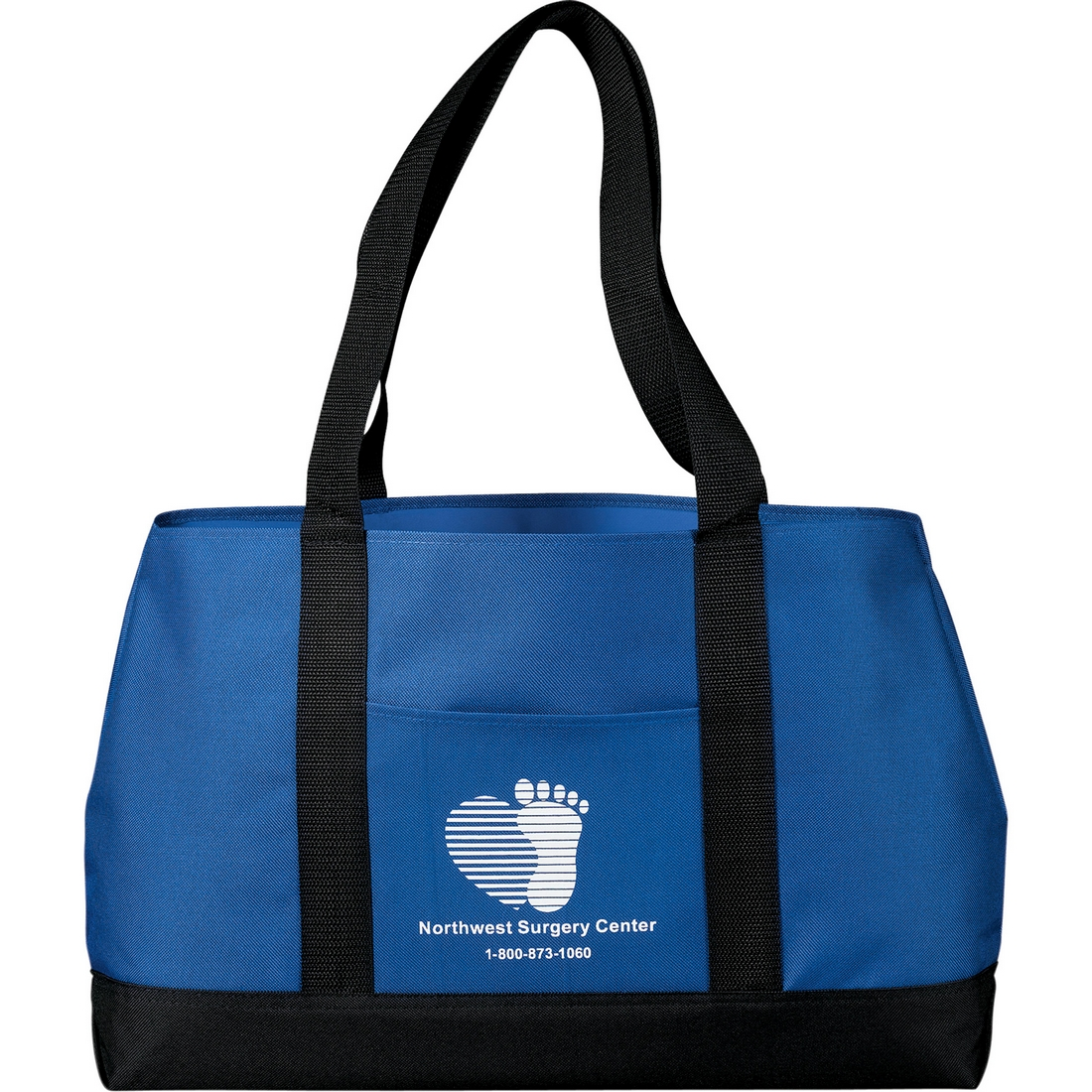 Custom Printed Tote Bags with Sturdy Handle - Blueberry Ink 923a16df7