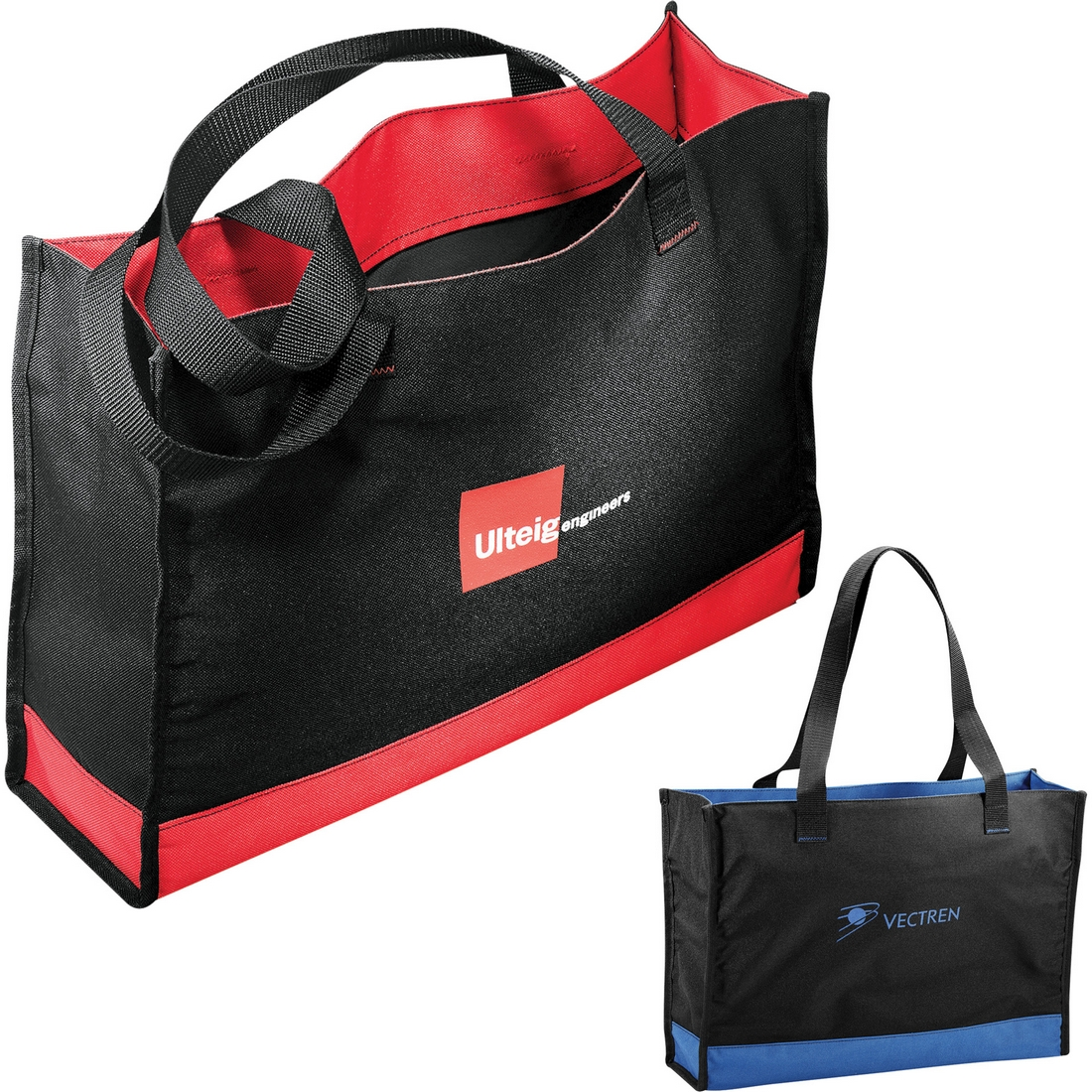 Carry-All Meeting Tote - Wider Style Perfect For Tradeshows