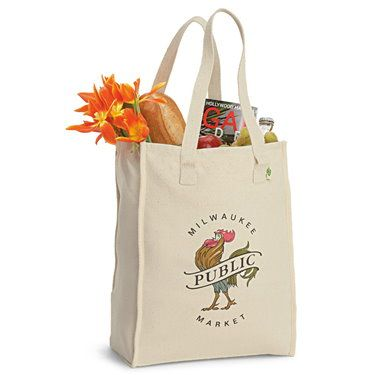Recycled Cotton Bag - Eco-friendly - Full-Size - Dependable