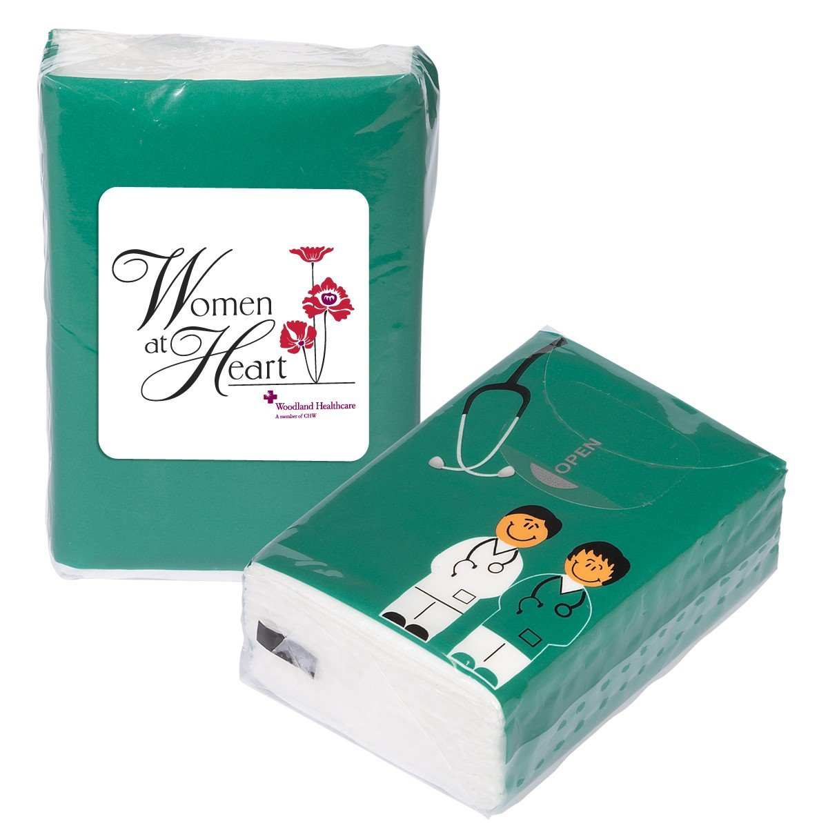 Doc and Nurse Mini Tissue Packets