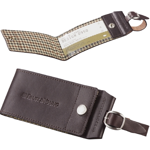 Cutter & Buck Leather ID Tags