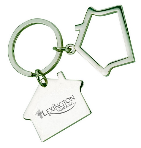 Two Houses Keychain
