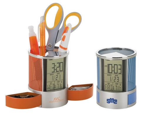 Digital Desk Clock/Organizer