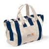 Striped Cotton Corporate Gift Tote Bags