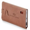 Power Bank With Debossed Logo Leather Cover