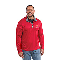 Mens Sporty Zip Pullovers