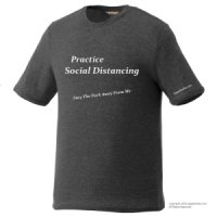 My Social Distancing Policy - T-Shirts