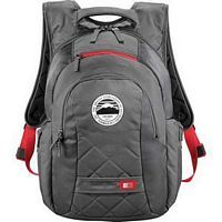 Case Logic<sup>&reg;</sup> Cross-Hatch Computer  Promotional Backpack