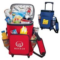 18-can Rolling Insulated Cooler Bag