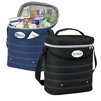 Oval Cooler Bag with Shoulder Strap - Bulk Promotional Item