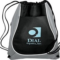 Adaptable Cinch Tote Bag - Customized with your Logo