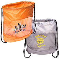 See-Through Drawstring Bags