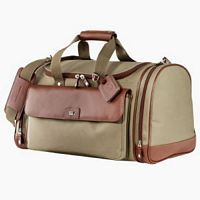 Cutter & Buck Leather & Canvas Duffel Bags - Corporate Gift