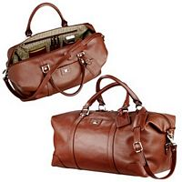 Leather Cutter & Buck Duffel Bag