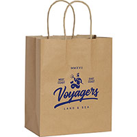 Small Custom Printed Kraft Paper Bags