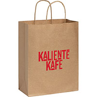 Medium Custom Printed Kraft Paper Bags