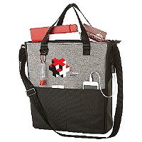 USB Port Convention Tote Bag