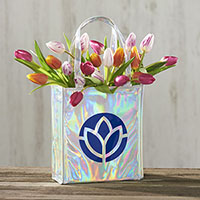 Shimmery Gift Tote Bags