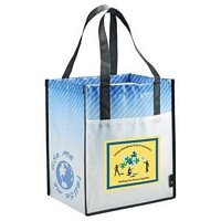 Laminated Nonwoven Pocket Tote