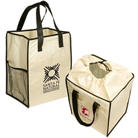 Non-Woven Drawstring Grocery Tote