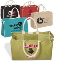 Eco-Friendly Cotton and Jute Tote Bag