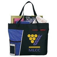 Business Meeting Tote Bags with Custom Logo Imprint