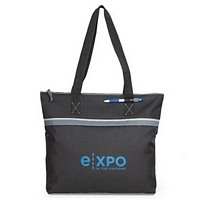 Convention Tote in Bright Colors - Spacious Main Compartment