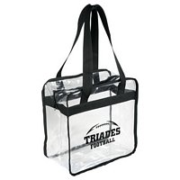 Clear Zippered Safety Tote