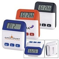 Auto Off Pedometer - Wellness Promotional Product