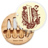 Tempered Glass Cheese Plate Kits