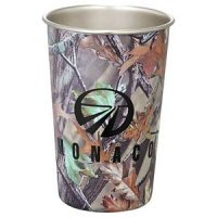 Camouflage Stainless Pint Glass 16oz