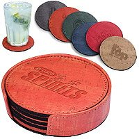 Cork Round Coaster Sets