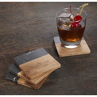 Stone & Wood Coaster Sets
