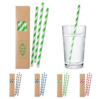 Eco-Friendly Paper Straw Sets