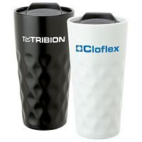Diamond Ceramic Travel Tumbler 15 oz
