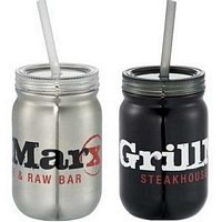 Stainless Steel Mason Jar 24oz - Promotional Business Gift