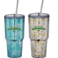 Hot & Cold Celebration Tumbler 24oz