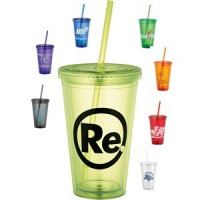 Straw Color 16 oz. Tumbler